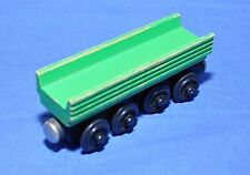 HENRY's FOREST LOG CAR (open-ended) 1994 / Considered rare / Thomas wooden train