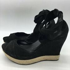 UGG Black Wedges Size 11
