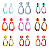 Fashion Women Acrylic Earring Cheap Geometric Drop Dangle Earrings Jewelry Gifts