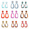 Fashion Women Acrylic Earring Cheap Geometric Drop Dangle Earrings Jewelry Gifts