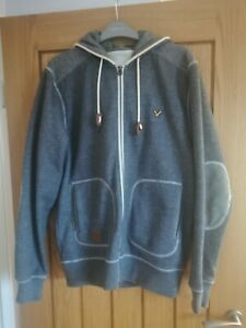 Mens Voi Blue smart jumper/sweatshirt Large