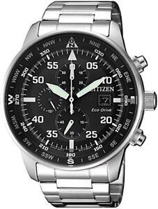 CA0690-88E,CITIZEN Eco-Drive Watch,Chrono,210DayPowerReserve,WR100,12/24hrs,Mens