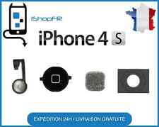 Bouton home kit complet noir iPhone 4S