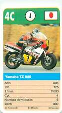 YAMAHA TZ 500  JAPON JAPAN  SPORT MOTO 70s 80s PLAYING CARD CARTE À JOUER