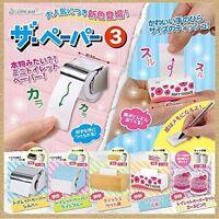 J Dream The Paper 3 Gashapon 5 set mini figure capsule toys Japan
