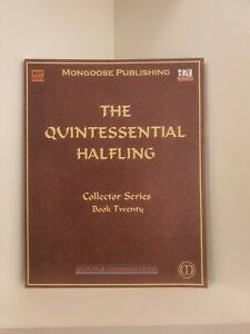 The Quintessential Halfling, RPG, Mongoose Publishing, Softcover