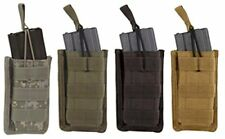 Voodoo Tactical Molle Compatible Single Open Top Rifle Magazine Pouch