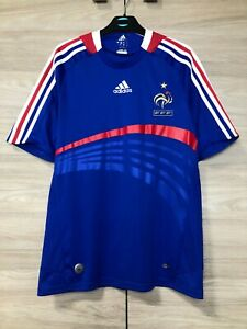 France 2007-2008 Home Football Soccer Shirt Jersey Maglia Camiseta size S