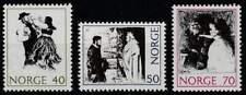 Noorwegen postfris 1971 MNH 630-632 - Volks Sprookjes