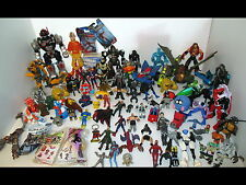 90+ Action Figure Lot Transformers/Avatar/Spider Man/Pokemon/Power Rangers/More