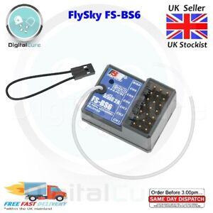 FlySky FS-BS6 6ch Récepteur Avec Gyro Stabilisation Système - RC Voiture Bateau
