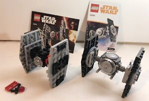Lego Star Wars TIE Fighter Polybag Lot 30276 & 30381 First Order Solo