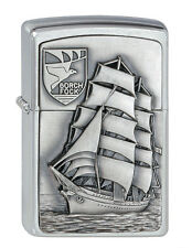 ZIPPO accendino Gorch Bormann emblema n. 1300177, nave a vela, Collection 2010 NUOVO