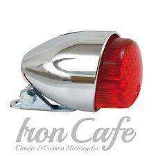 Faro,Fanale posteriore TEXAS Cromato per Harley Davidson,Custom,Bobber,Caferacer