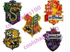 5pcs lot Harry Potter Hogwards Embroidered Iron Patches