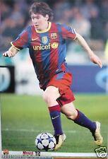 "LIONEL MESSI ""MESSI 10"" POSTER - BARCELONA FC FOOTBALL"