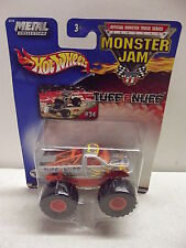 HOT WHEELS MONSTER JAM METAL COLLECTION TUFF E NUFF #34 NISP