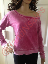 Juicy Couture Crown Jewel Bright Purple Fleece Relaxed Shirt Top Sz S - JG009294