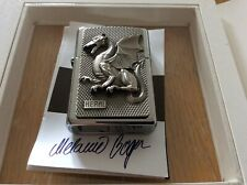 ZIPPO LIGHTER HERAL TUTO LIMITED EDITION 414/777 ABSOLUTELY STUNNING LIGHTER.