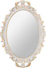 Mirrornova Decorative Wall Mirror, Vintage Hanging Mirrors for Bedroom Living-Ro