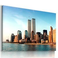NEW YORK CITY View Canvas Wall Art Picture Large SIZES  L61 X