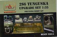 Hungarian Aero Decals 1/35 2S6 TUNGUSKA SP AA Vehicle Resin Upgrade Kit