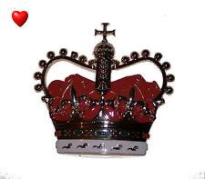 Royal Queen Crown Emblem Desk Paperweight Birthday Valentine Anniversary Gift XO