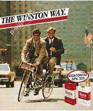 WINSTON cigarettes 1990 Print Ad # 107 5