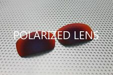 LINEGEAR Lens for Oakley X-Squared - Red Mirror - Polarized  [XS-RM-POLA]