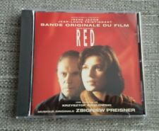 TROIS COULEURS RED CD SOUNDTRACK SCORE - ZBIGNIEW PREISNER