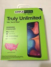 Samsung Galaxy A20 - 32gb Unlocked Black