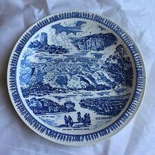 """Grand Canyon National Park Souvenir Plate - Vernon Kilns -10 1/2 """""""
