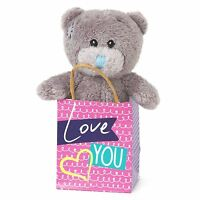"Me to You Love You 3"" Plush In Gift Bag Gifts For Loved Ones - Tatty Teddy Bear"