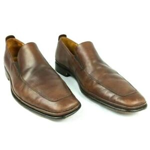 Cole Haan Mens Tan Loafers Beige Leather Slip-On Shoes Size 11 M