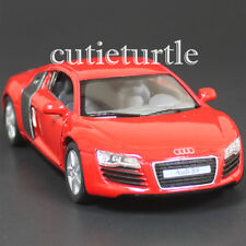 Kinsmart Audi R8 1:36 Diecast Toy Car Red