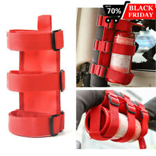 Adjustable Roll Bar Fire Extinguisher Holder Mount Strap for Jeep Wrangler 3lb