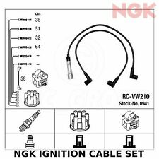 NGK Ignition Cable Set (HT Leads) - Stk No: 0941, Part No: RC-VW210
