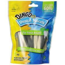 Dingo Dental Spirals for Dogs, 15-Count
