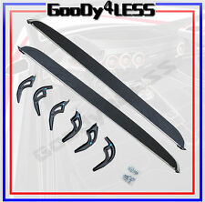 For 14-16 Acura MDX OE Style Running Boards Pair Side Step Nerf Bar Chrome Trim