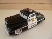 Sheriff - 49 Merc - Black White - Disney Cars Pixar - Mattel - China