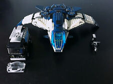 LEGO Marvel Avengers Quinjet w/ Bike & Van (Set 76032) [NO FIGURES] Out of Print