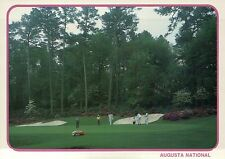 Augusta National Golf Club Course, Masters, Georgia, 13th Green Play -- Postcard