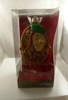hand crafted glass Christmas Ornament Rare Wizard of Oz Cowardly Lyon Kurt Adler