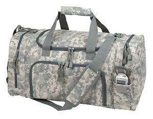"21"" Tactical Military Duffle Camo Gun Ammo Range Gear Bag Hunting Duffel Bag"