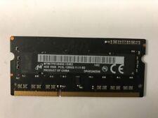 Memoria RAM DDR3 SDRAM Micron velocità bus PC3-12800 (DDR3-1600) per prodotti informatici