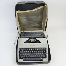 Vintage 1960s Olympia SM9 DeLuxe Manual Typewriter In Great Condition Cover
