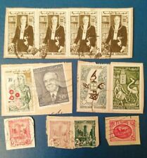 12 Used Tunisia Stamps