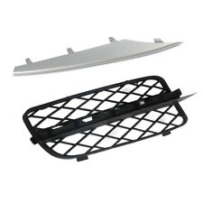Front Bumper Grill Cover Silver Trim for BMW X5 E70 2007-2010 Right Passenger