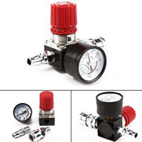"Air Compressor Pressure Regulator Switch Control 1/4"" 180PSI Relief Valve Gauges"