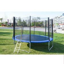 PA 12FT Trampoline Kids Adults with Enclosure Net Indoor Outdoor Trampoline